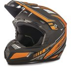 Flat Black/Orange MX46 Uncle Helmet - G3467256 TC-6