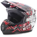 Youth Black/Red MX46 Hooper Helmet - G3468202 TC-1