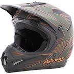 Youth OD Green/Orange GM46.2 Race Helmet - G3466712 TC-TC-3F