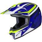 Youth Blue/Green/White CL-XY II Bator MC-2 Helmet - 294-923
