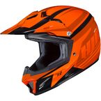 Youth Orange/Red CL-XY II Bator MC-7 Helmet - 294-973