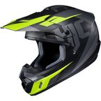 Semi-Flat Black/Gray/Green CS-MX II Dakota MC-5SF Helmet - 328-754
