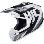 Black/White CS-MX II Dakota MC-10 Helmet - 328-903
