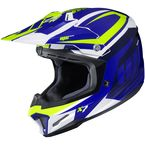 Blue/Green/White CL-X7 Bator MC-2 Helmet - 756-923