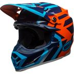 Blue/Orange Moto-9 MIPS District Helmet - 7091780