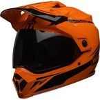 Hi-Viz Orange/Black MX-9 Adventure MIPS Torch Helmet - 7092714