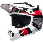 White/Black/Red MX-9 MIPS Marauder Helmet - 7091732