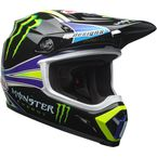 Black/Green MX-9 MIPS Pro Circuit Replica 18.0 Helmet - 7091707