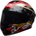 Black/Gold Star MIPS Isle of Man 18 Helmet - 7092100