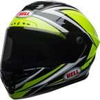 Hi-Viz Green/Black Star MIPS Torsion Helmet - 7092172