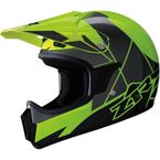 Childs Hi-Viz Yellow/Green Rise Helmet - 0101-10751