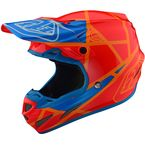 Honey/Orange Metric SE4 Composite Helmet - 101109204