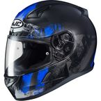 Semi-Flat Black/Blue CL-17 Arica MC-2SF Helmet - 856-723