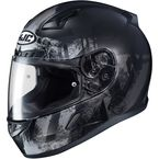 Semi-Flat Black/Gray CL-17 Arica MC-5SF Helmet - 856-753