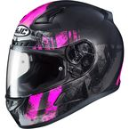 Semi-Flat Black/Pink CL-17 Arica MC-8SF Helmet - 856-784