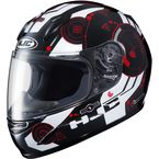 Youth Black/White/Red CL-Y Simitic MC-1 Helmet - 238-914