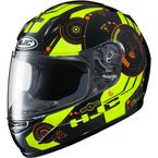 Youth Black/Hi-Vis/Orange CL-Y Simitic MC-4H Helmet - 238-944