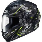 Semi-Flat Gray/Black/Hi-Vis CS-R3 Songtan MC-3HSF Helmet - 140-734