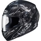 Semi-Flat Gray/Black CS-R3 Songtan MC-5SF Helmet - 140-754