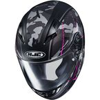 Semi-Flat Gray/Black/Pink CS-R3 Songtan MC-8SF Helmet - 140-783