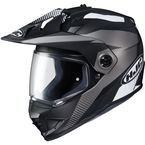Semi-Flat Black/Gray DS-X1 Awing MC-5SF Helmet - 514-753