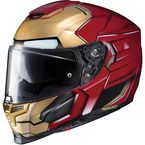 Maroon/Gold/Black Marvel RPHA-70 ST Iron Man Homecoming Helmet - 1696-914