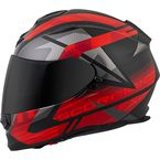 Black/Red EXO-T510 Fury Helmet - T51-1515