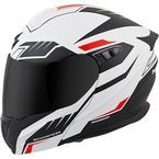 White/Black/Red EXO-GT920 Shuttle Helmet - 92-1335