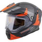 Orange EXO-AT950 Snow Helmet - 95-1085-SD