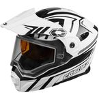 Matte White EXO-CX950 Slash Snow Helmet - 45-19206
