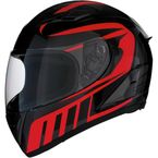 Red Strike Ops Attack Helmet - 0101-11025