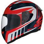 Red/White/Black Strike Ops Attack Helmet - 0101-11030