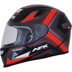 Black/Red FX-99 Helmet - 0101-11113