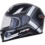 Black/White FX-99 Helmet - 0101-11117