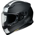 Matte Black/White RF-1200 Flagger TC-5 Helmet - 0109-3105-06