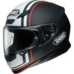 Black/White/Orange RF-1200 Recounter TC-5 Helmet - 0109-3305-07
