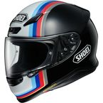 Black/White/Blue RF-1200 Recounter TC-10 Helmet - 0109-3310-06