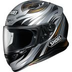 Gray/Black/Gold RF-1200 Incision TC-5 Helmet - 0109-3405-06