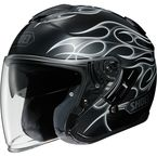 Black/Gray J-Cruise Reborn TC-5 Helmet - 0130-1005-06