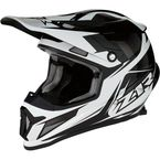 Black/White Rise Ascend Helmet - 0110-5530