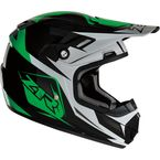 Youth Green Rise Ascend Helmet - 0111-1146