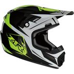 Youth Hi-Viz Yellow Rise Ascend Helmet - 0111-1149