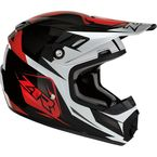 Youth Red Rise Ascend Helmet - 0111-1155