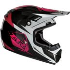 Youth Pink Rise Ascend Helmet - 0111-1161
