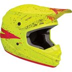 Youth Acid/Yellow Sector Hype Helmet - 0111-1179