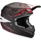 Youth Black/Coral Sector Hype Helmet - 0111-1188
