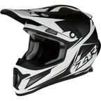 Matte White/Black Rise Ascend Helmet - 0110-5643