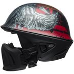 Matte Black/Red/Titanium Rogue Airtrix LE Helmet - 7095655