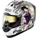 Silver Alliance GT DL18 Helmet - 0101-11193