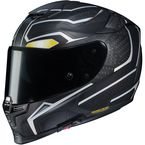 Semi-Flat Black Marvel RPHA-70 ST Black Panther Helmet - 1698-754